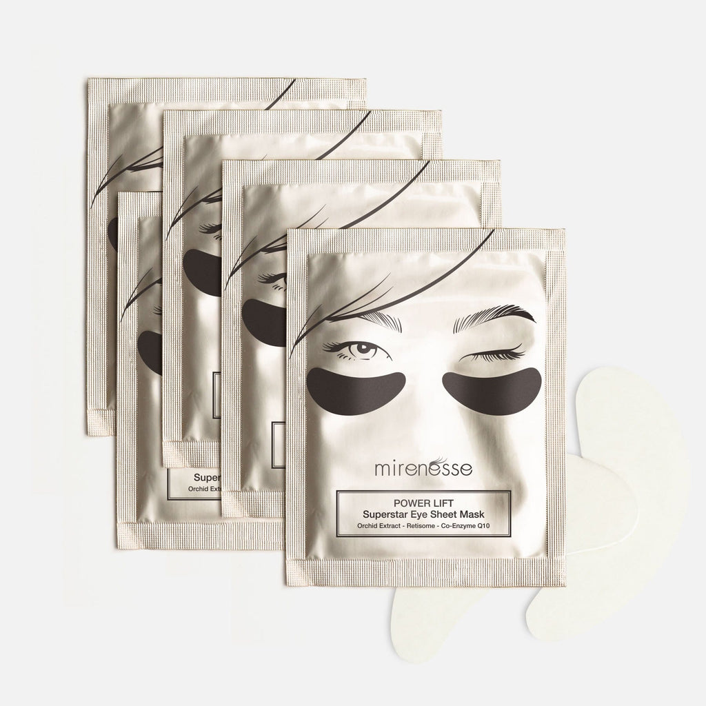 POWER LIFT SUPERSTAR EYE SHEET MASK X 1 PAIR x 5PCE
