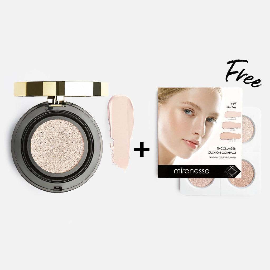 10 Collagen Cushion Foundation + Bonus Mini Kit 11.PORCELAIN