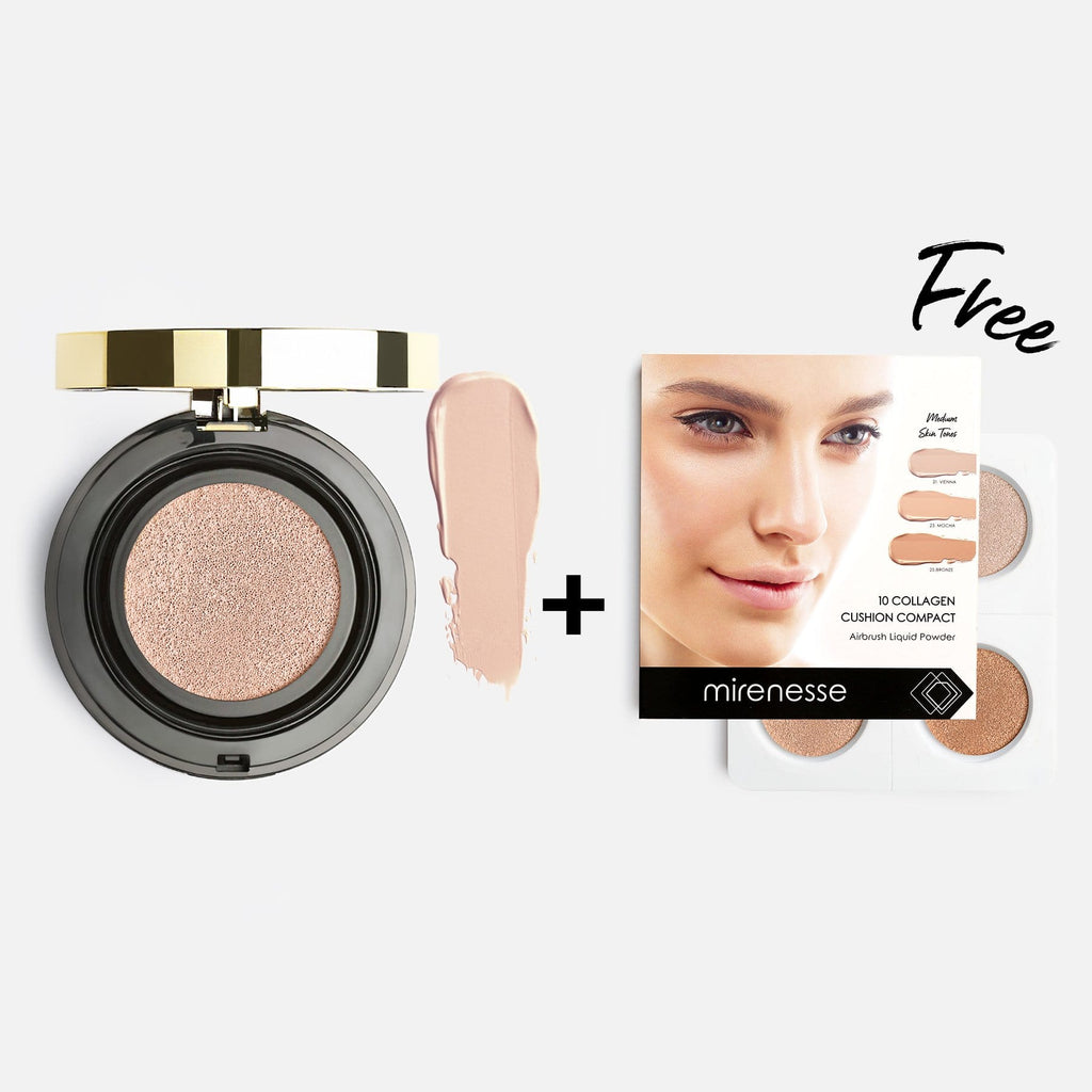 10 Collagen Cushion Foundation + Bonus Mini Kit 21. VIENNA