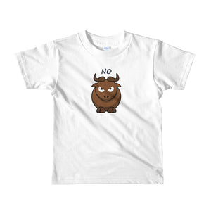 No bull Short sleeve kids t-shirt, cowgirl, cowboy, gift for baby shower, - Rural Peddler - Tees and Homegoods