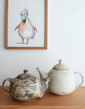 Sisters Ceramics high-fire stoneware teapots