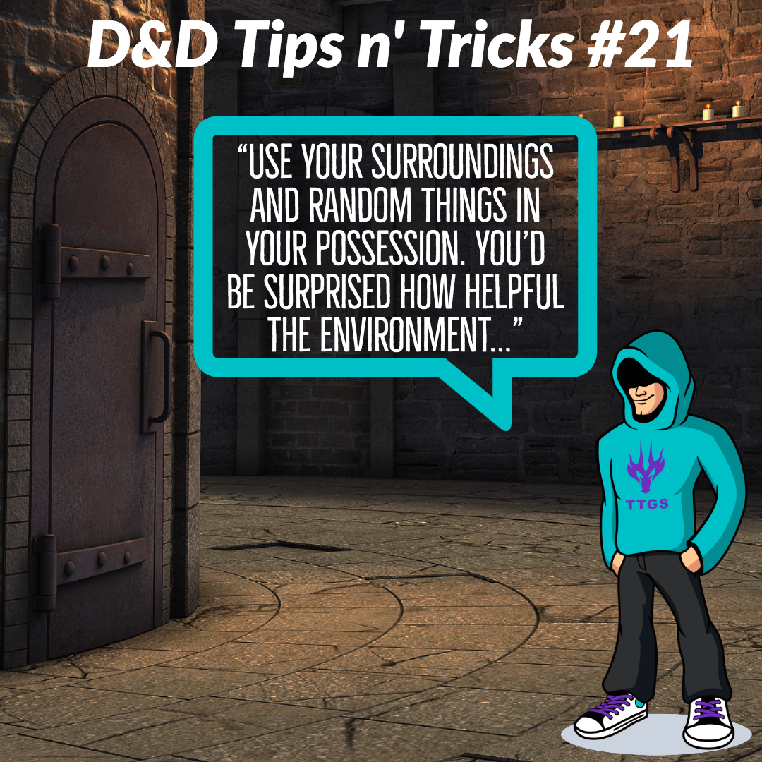 D&D Tips n Tricks #21 | Resourcefulness
