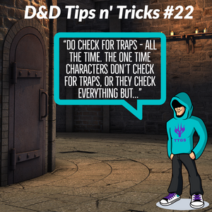 D&D Tips n Tricks  #22 | Everything is a trap