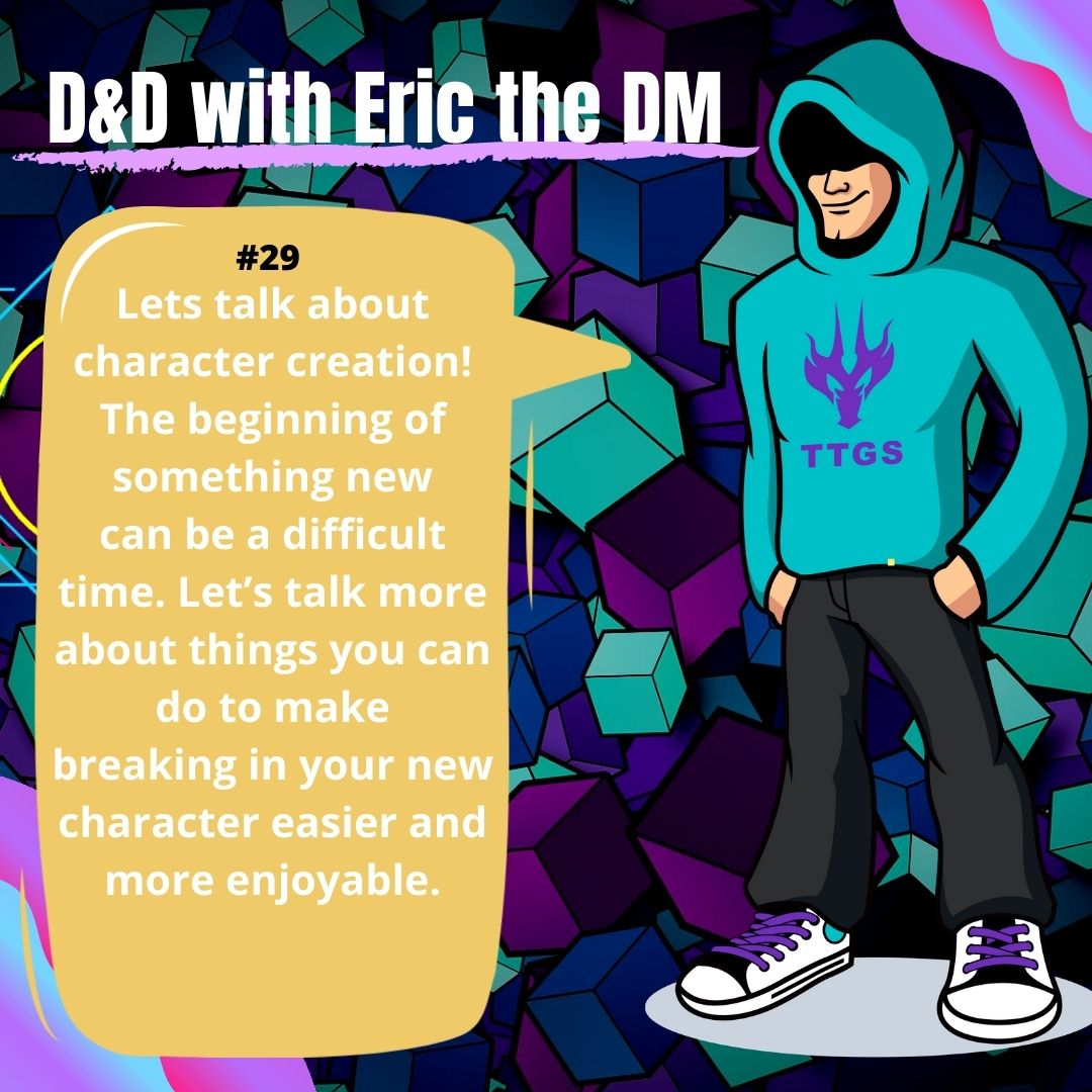 D&D WITH ERIC THE DM #29: Level 1!