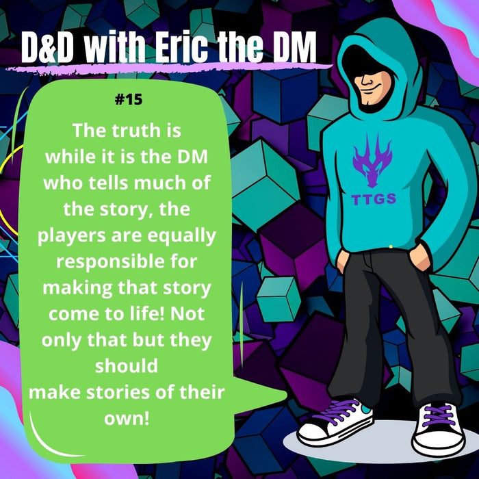 D&D With Eric the DM #15: Story Time