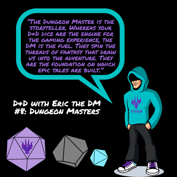 D&D with Eric the DM #8: Dungeon Masters