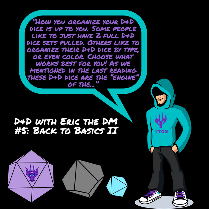 D&D with Eric the DM#5: Back to Basics II