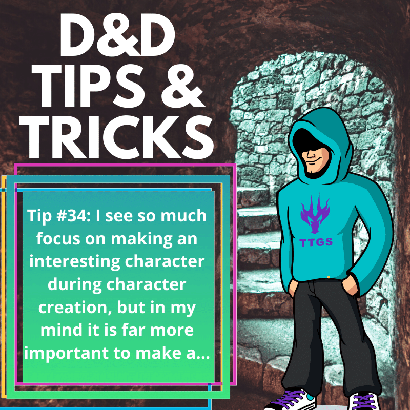 D&D Tips n' Tricks #34 | Character Creation