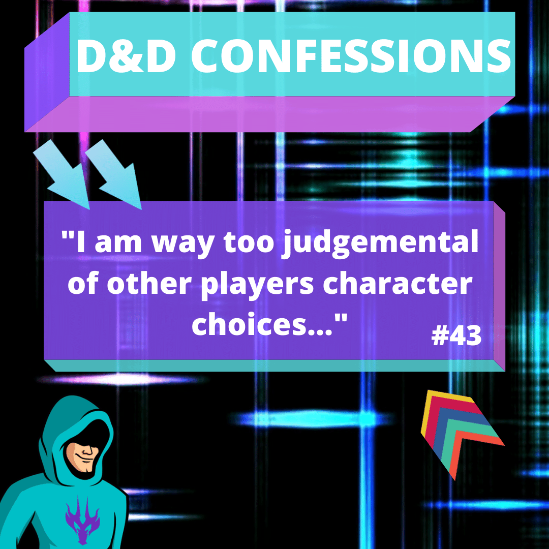 D&D Confessions Blog | Join Eric the DM as he reveals some of the best fan submitted D&D confessions for TheTabletopGameShop