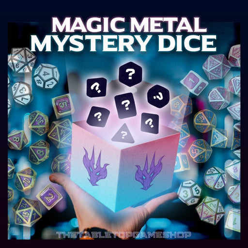 Magic Metal Mystery - Dnd Dice