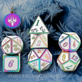 Limited Edition Frost Flash [D&D Metal Dice]