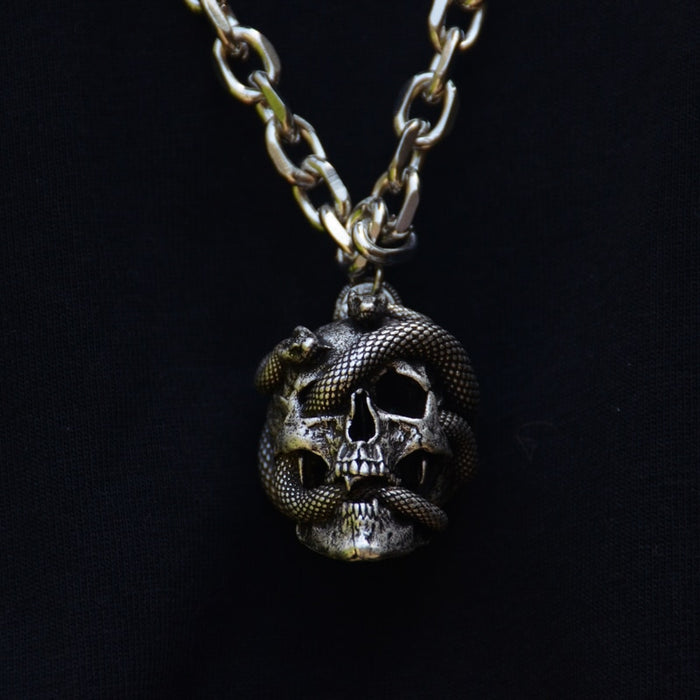 Medusa Skull Necklace