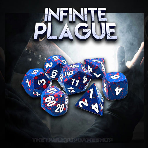 Infinite Plague - Metal DnD Dice