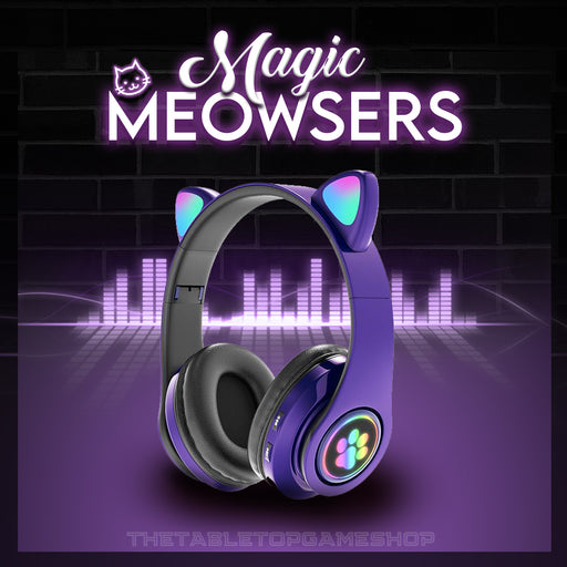 Magic Meowsers Cat Ear Wireless Headphones