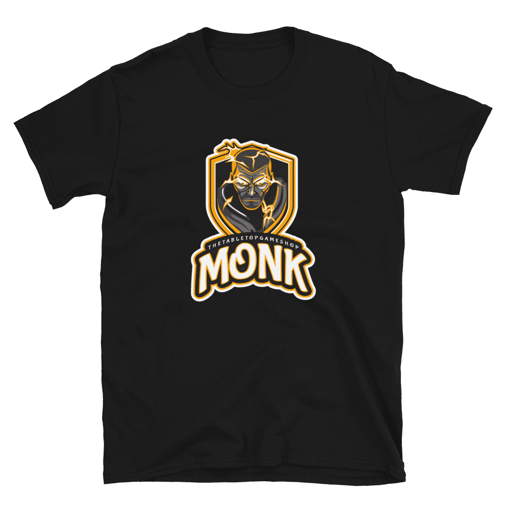D&D Black T-shirt - Monk