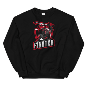 D&D Black Crewneck - Fighter