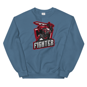 D&D Blue Crewneck - Fighter