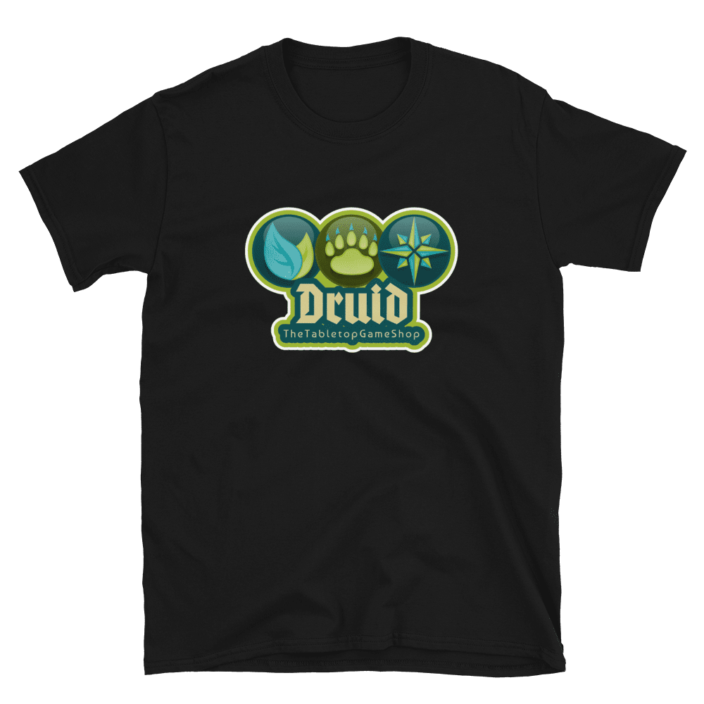 Druid Black T-shirt - Druid
