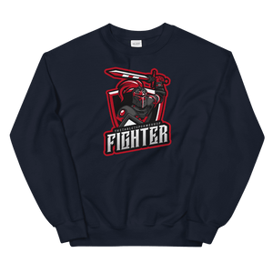 D&D Navy Crewneck - Fighter