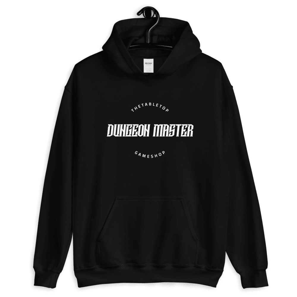 Dungeon Master Black - Dungeons & Dragons Hoodie