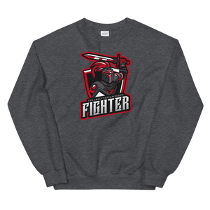 D&D Dark Gray Crewneck - Fighter