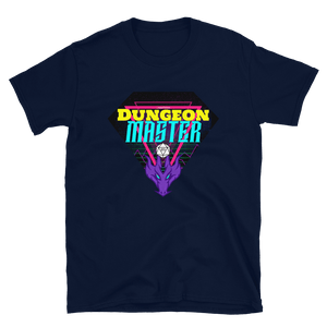 80's D&D Retro Dungeon Master T-Shirt - Navy
