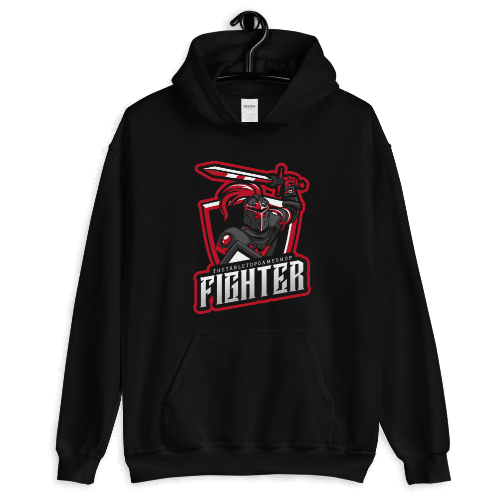 D&D Hoodie Black - Fighter