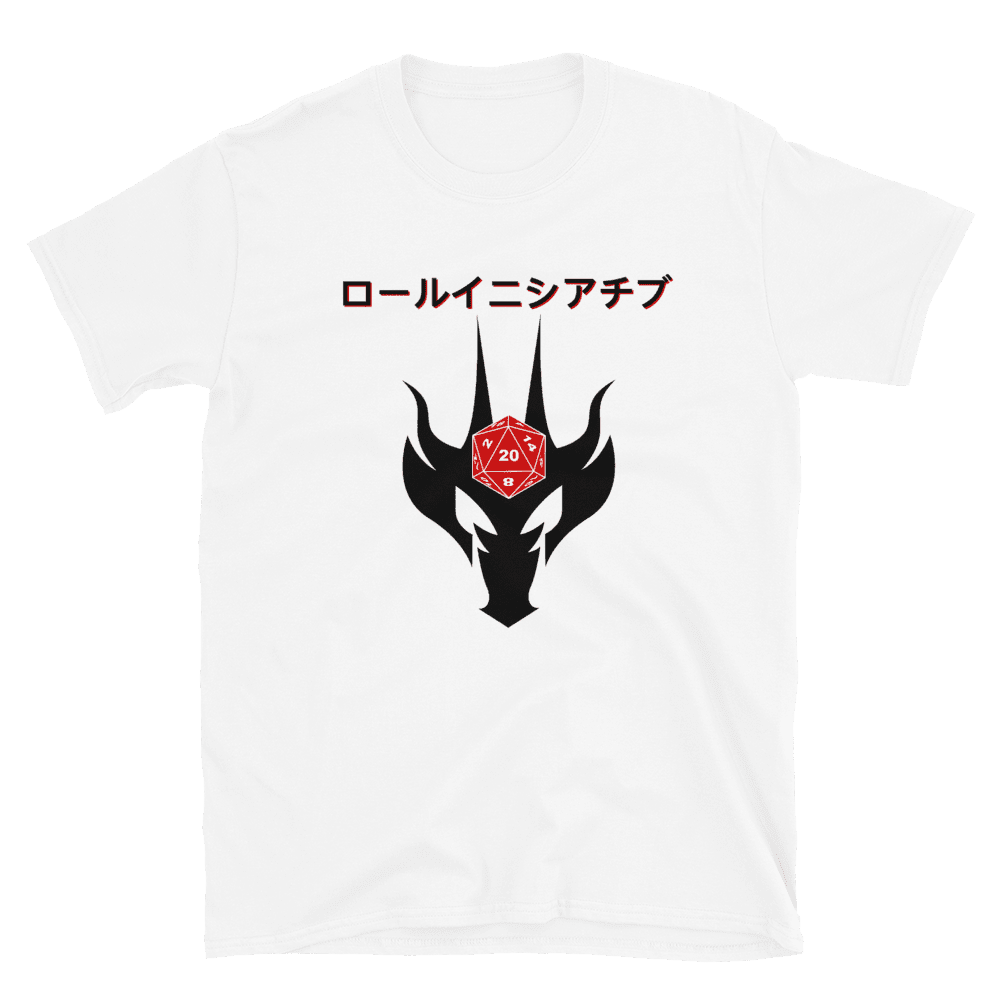 Roll Initiative - Japanese RPG D&D T-shirt