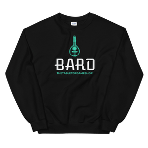 D&D Black Crewneck - Bard