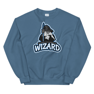 D&D Blue Crewneck - Wizard