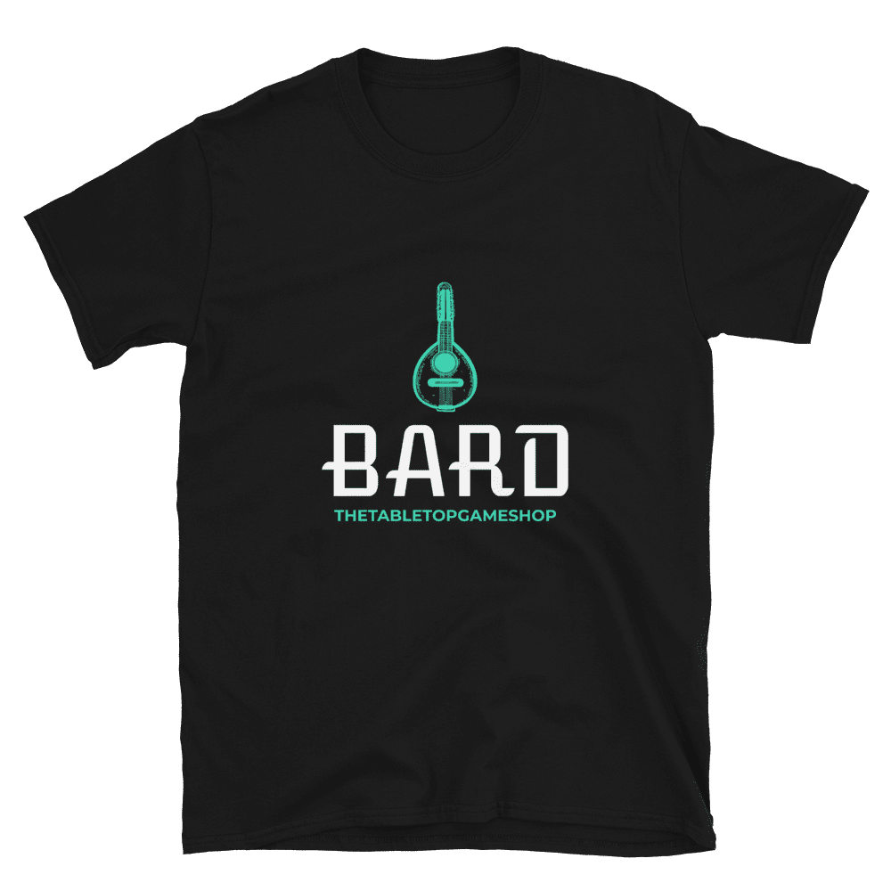 D&D Black T-shirt - Bard