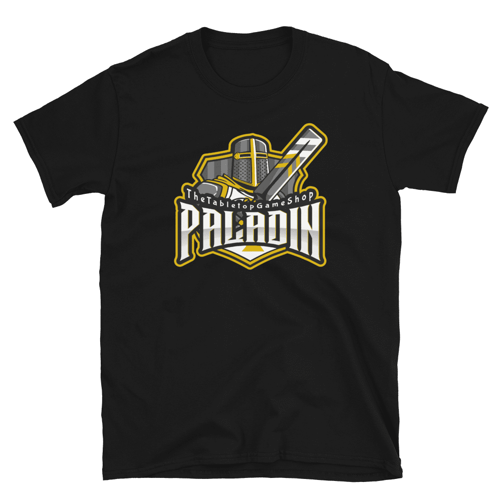 D&D Black T-shirt - Paladin
