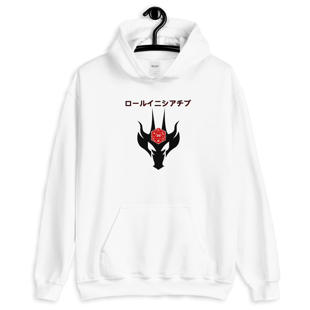 "Japanese ""Roll Initiative"" - D&D Hoodie"
