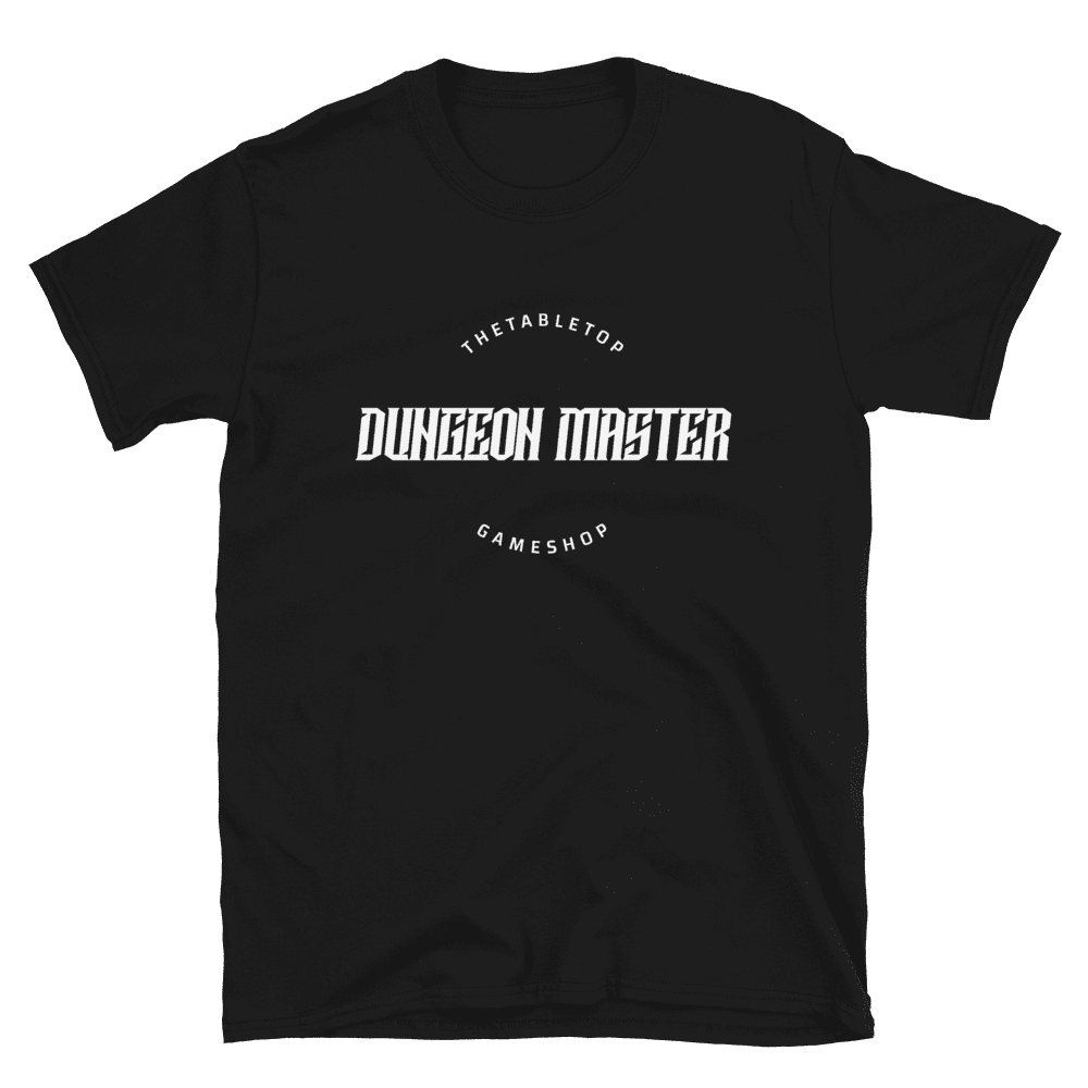 Dungeon Master T-shirt Black