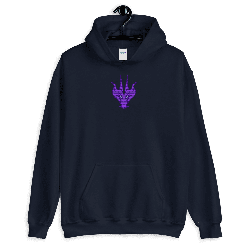 D&D Black Hoodie- Zerozz Champion of the Skies Dragon