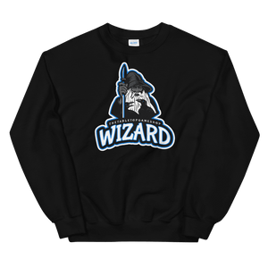 D&D Black Crewneck - Wizard