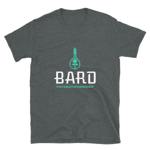 D&D Dark Gray T-shirt - Bard