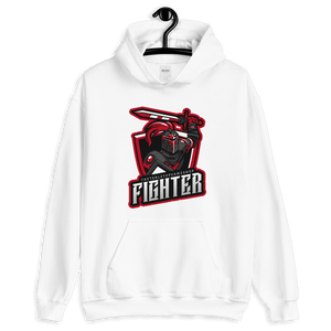 D&D Hoodie White - Fighter