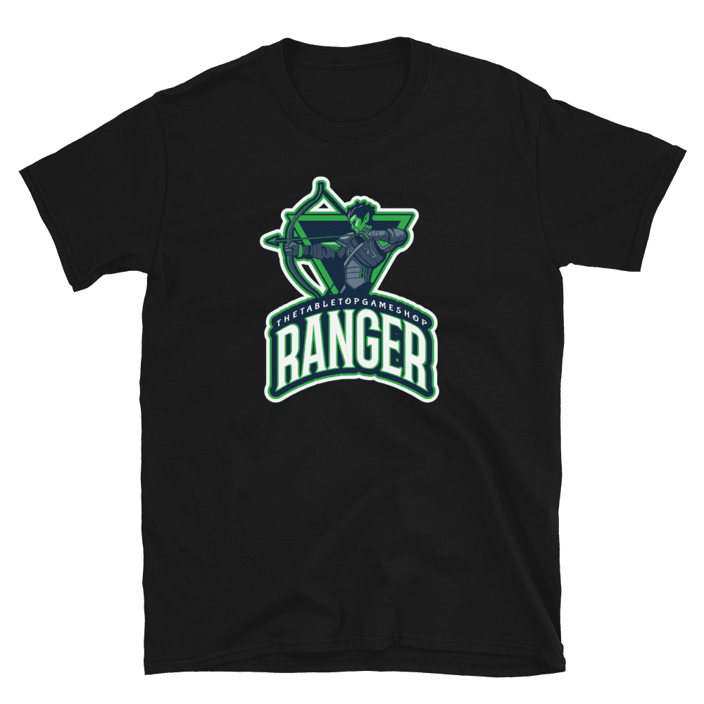 D&D Black T-shirt - Ranger