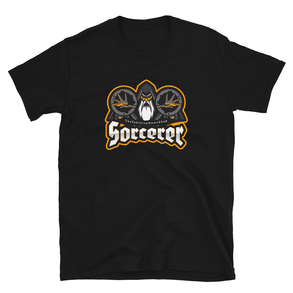 D&D Black T-shirt - Sorcerer