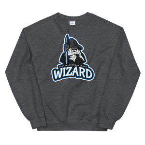 D&D Dark Gray Crewneck - Wizard