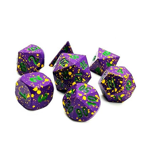 Death Spore Dice - Metal DnD Dice Set