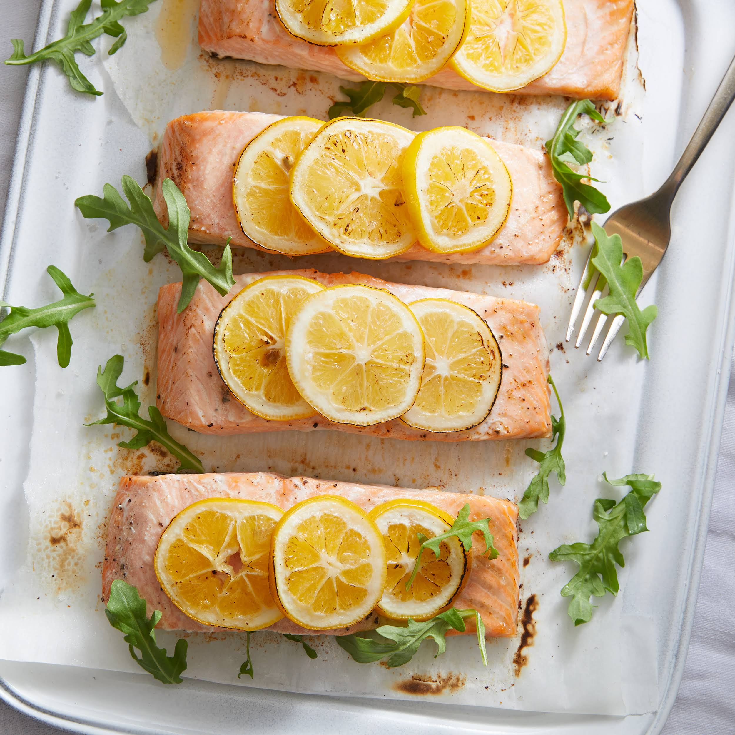 15-Minute Baked Salmon with Lemon