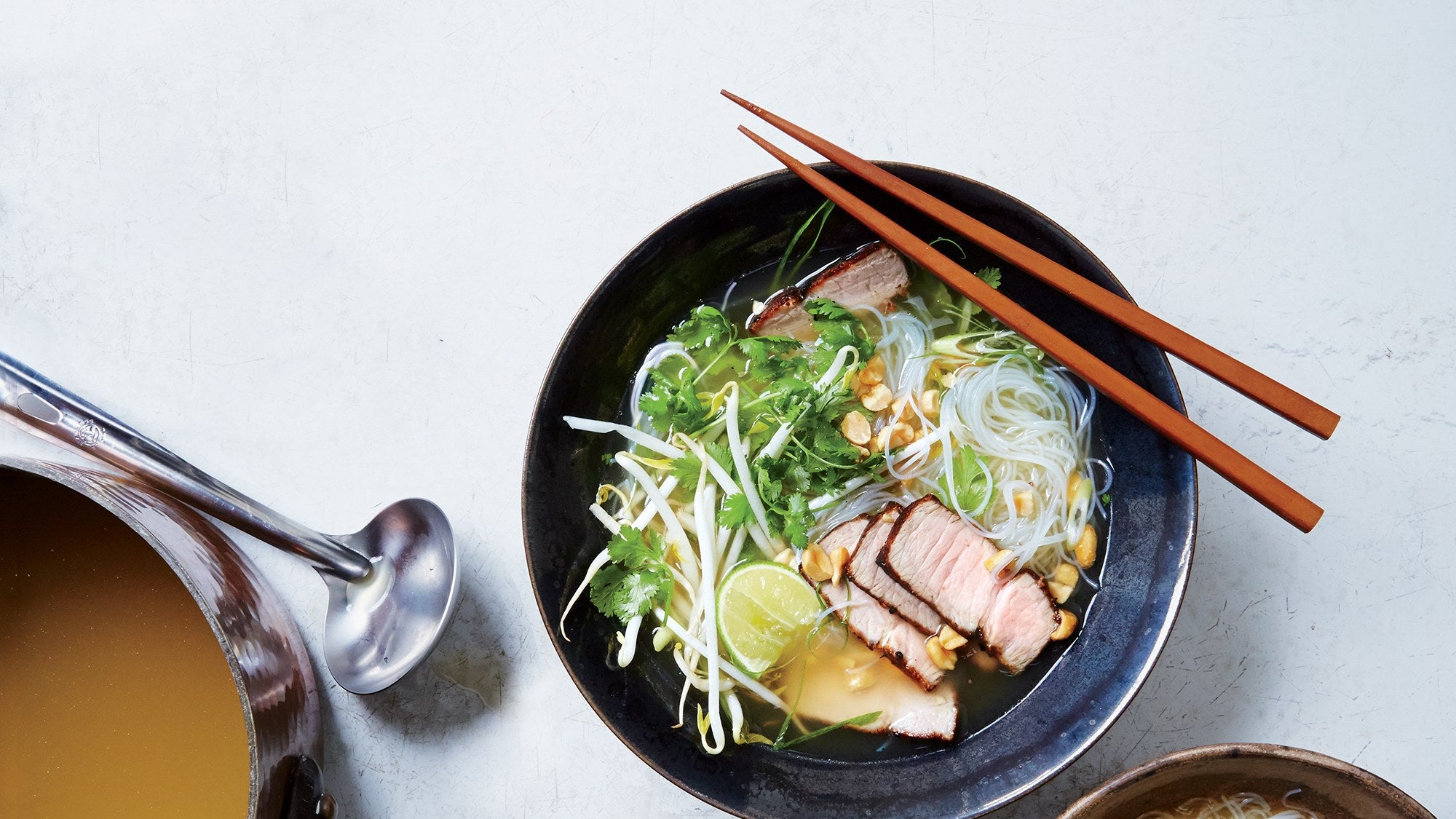 Aromatic Pork and Noodle Soup