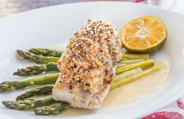 Chia Seed Crusted Fish