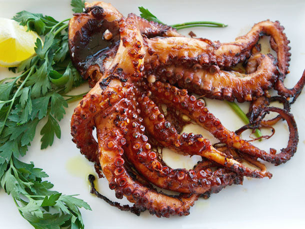 Italian-Style Grilled Octopus Recipe