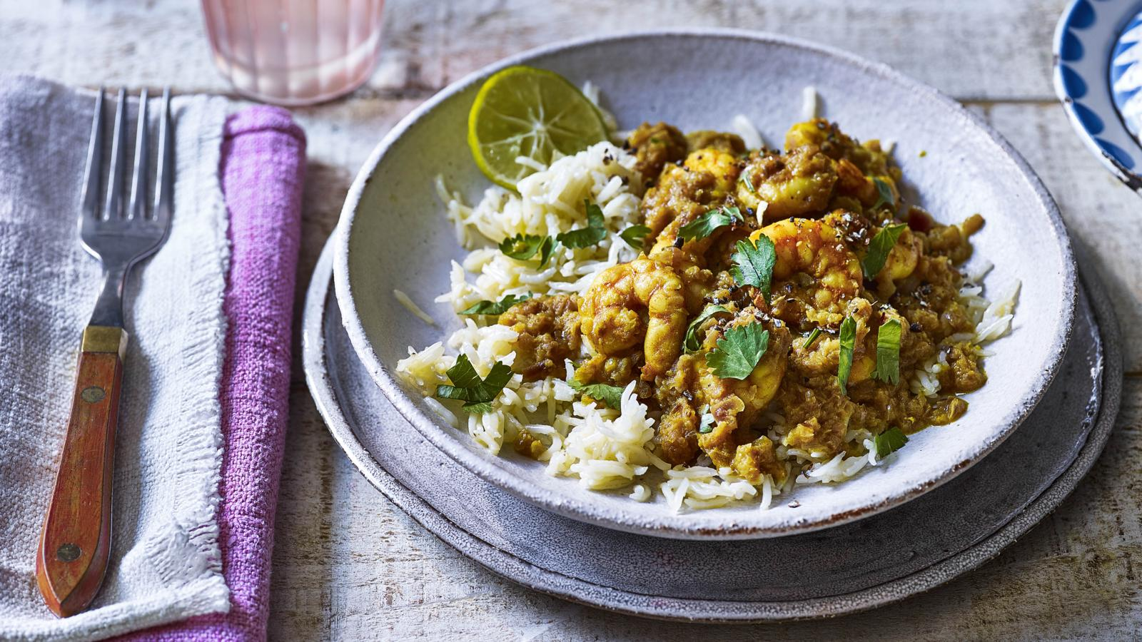 King Prawn Coconut Curry