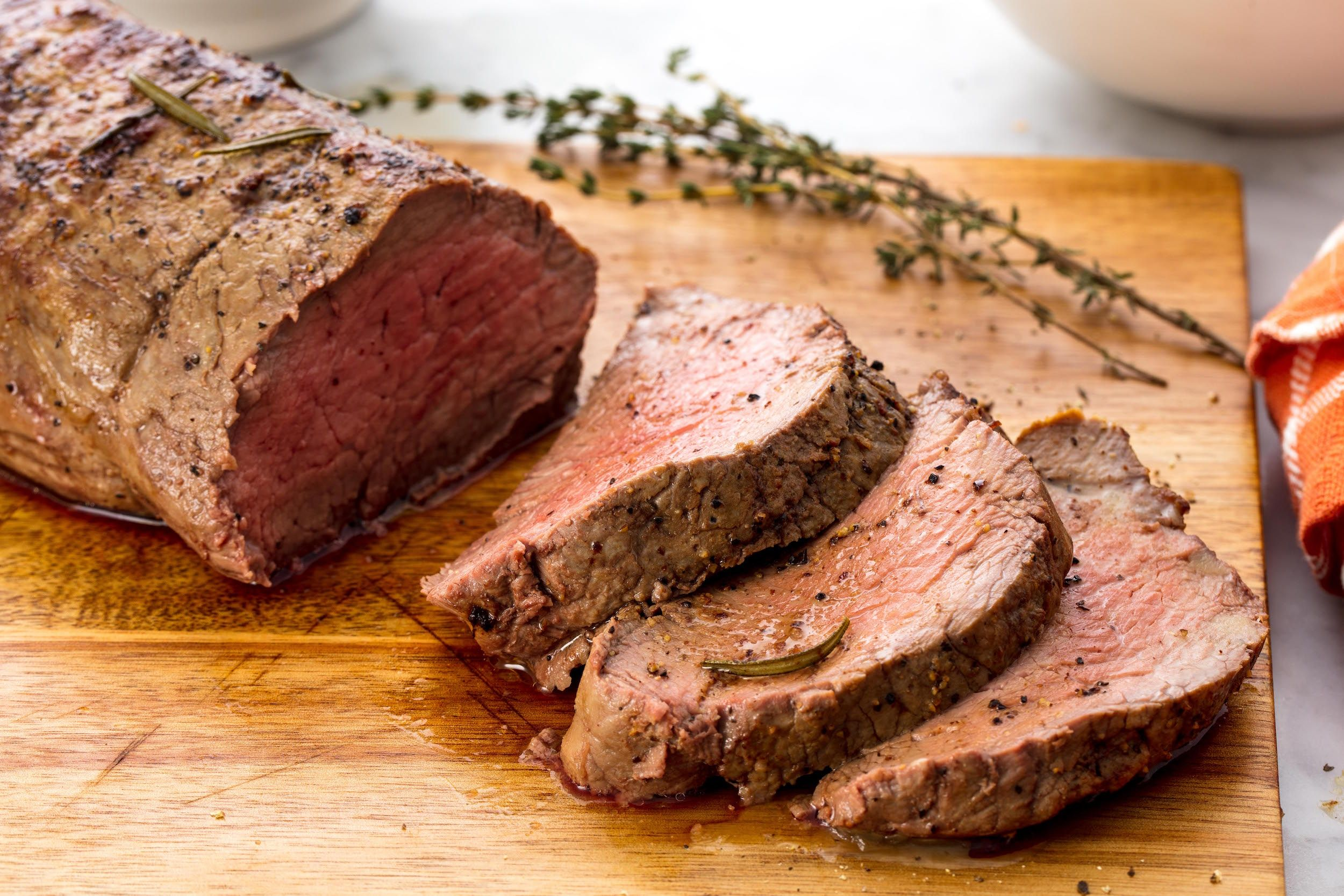 Oven Roasted Beef Tenderloin