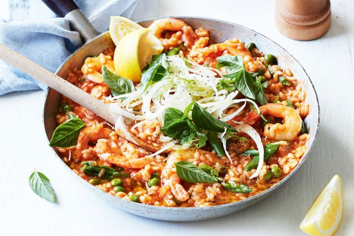 Prawn and Tomato Risotto