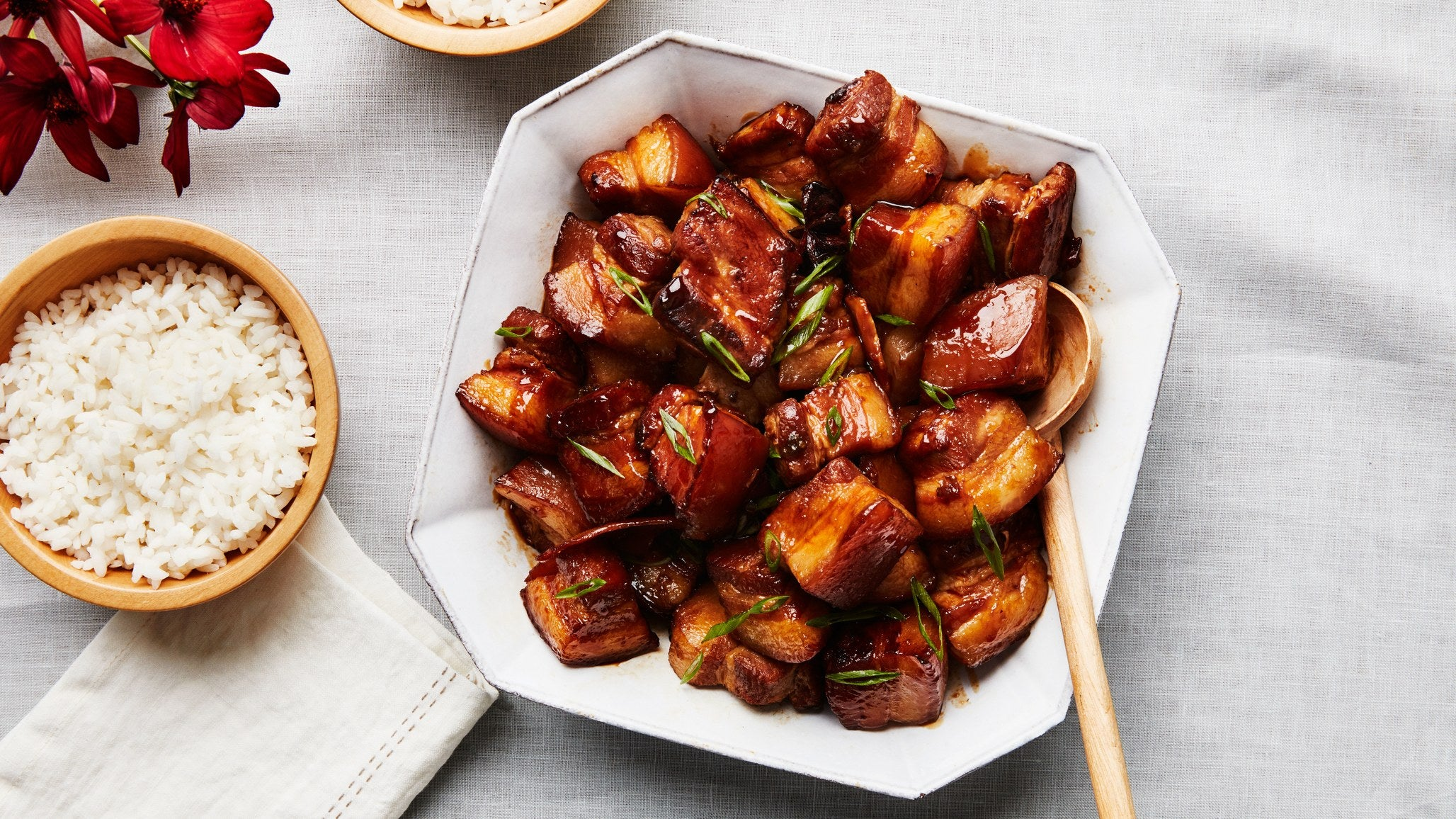 Red-Braised Pork Belly (Hong Shao Rou)